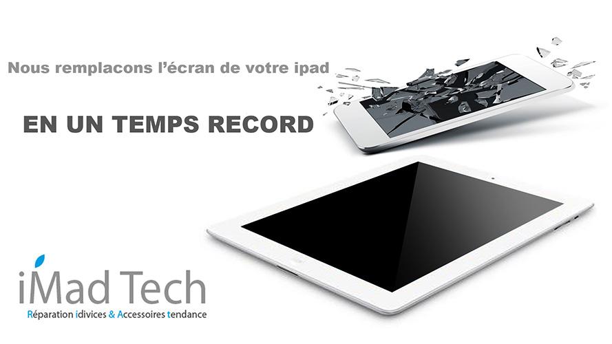 Réparation écran iPad marrakech