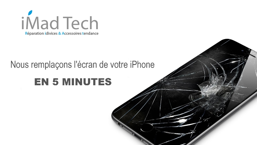 reparation ecran iphone marrakech